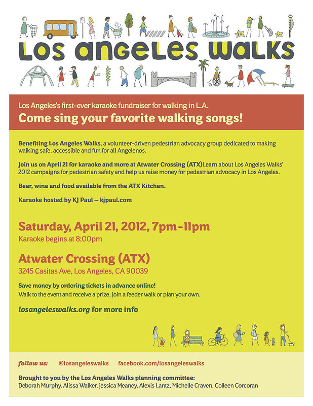 Los Angeles Walks karaoke fundraiser!