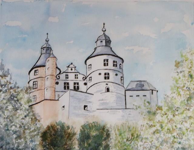Le chateau de Montbéliard