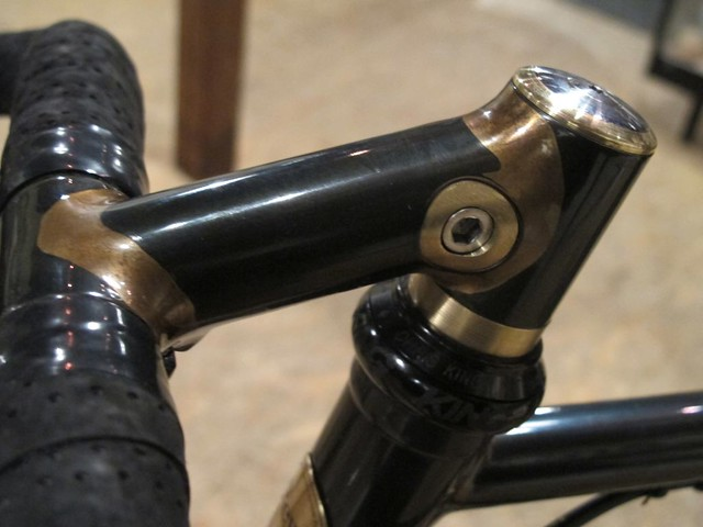 Brass clamp stem