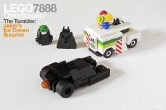 Lego 7888 pocket edition – The Tumbler: Joker's (micro) Ice Cream Surprise