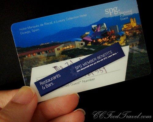 SPG Card Starwood Group