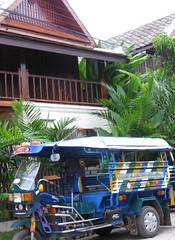 Typical Luang Prabang Tuk Tuk