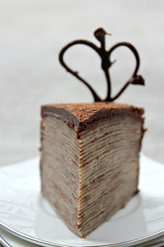 Crepe Cake slice