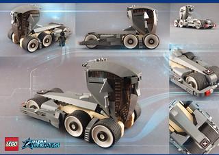 Rhino X / LEGO Ultra Agents Semi Concept Truck.... shhhh!