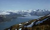 Alpine Muir inlet from Mt wright 1972, Glacier Bay National Park by William D Boehm Images of Nature