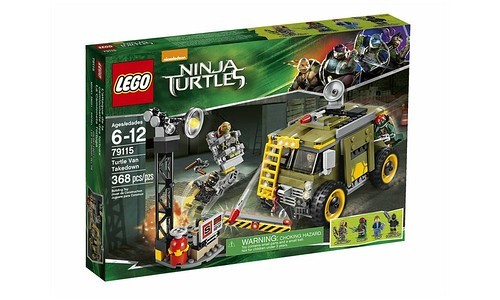 79115 Turtle Van Takedown BOX