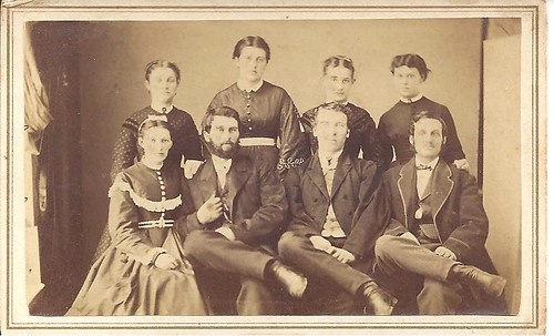 CDV Of A Group In Elgin