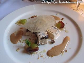 ©Ostern 2014 Der Alte Auf - Geeister Kaiserschmarrn mit gelierten Proseccotrauben und Nougat Zabaione