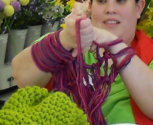 Arm Knitting Demo