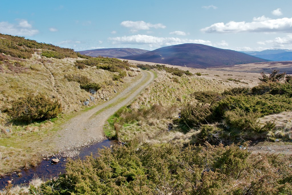 Track south of Morven