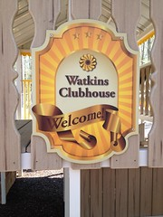Custom Clubhouse Sign
