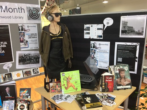 New Zealand Music Month display, Linwood Library