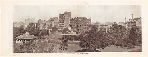 Macquarie Street from Botanic Gardens