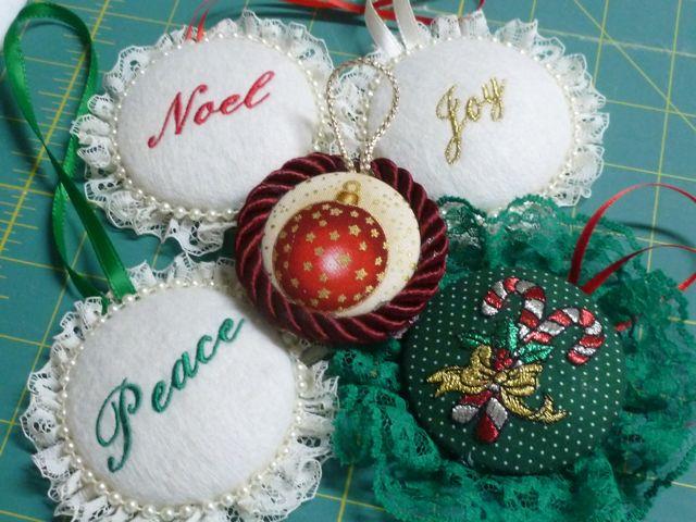Christmas Ornaments ~ From My Carolina Home