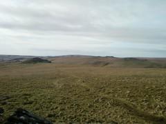 Looking towards Longaford Tor
