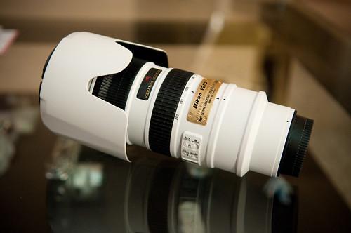 White Nikkor 70-200-1