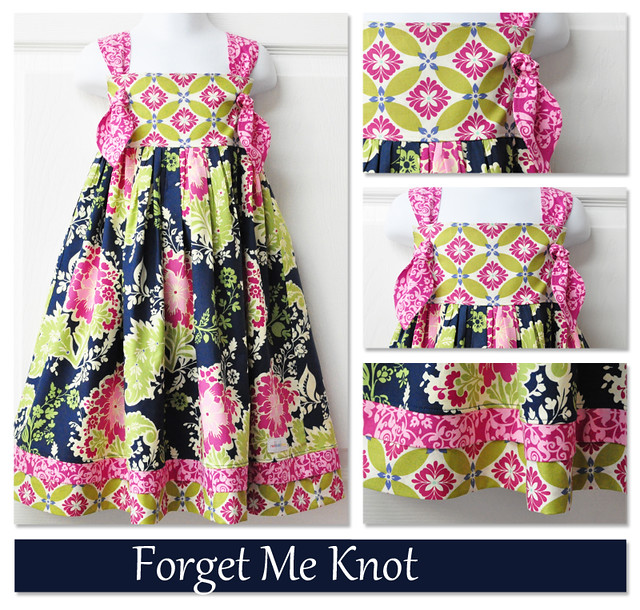 Knot Dress Collage