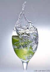 Lime splash 1