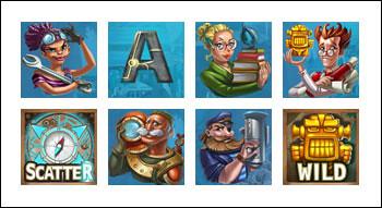 free Subtopia slot game symbols