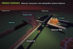 Hoboken Minecraft: SW at Observer & Jackson