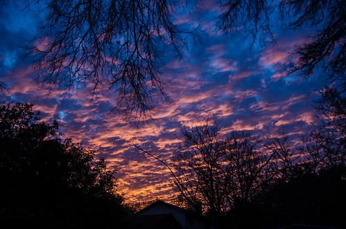 sunset clouds austin nikon texas d7000 billoriani lightroom4beta