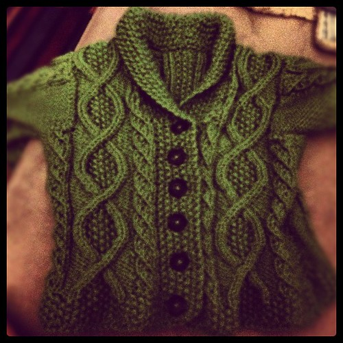 Bam.  Buttons.  #knitting #knit #febisforfinishing #knitty
