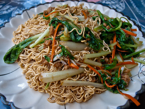Comida china - fideos