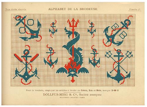 015-Alphabet de la Brodeuse1932- Thérèse de Dillmont