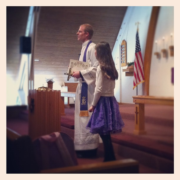 Rebecca completed level 6 of the Catechism Memory Program. ⛪