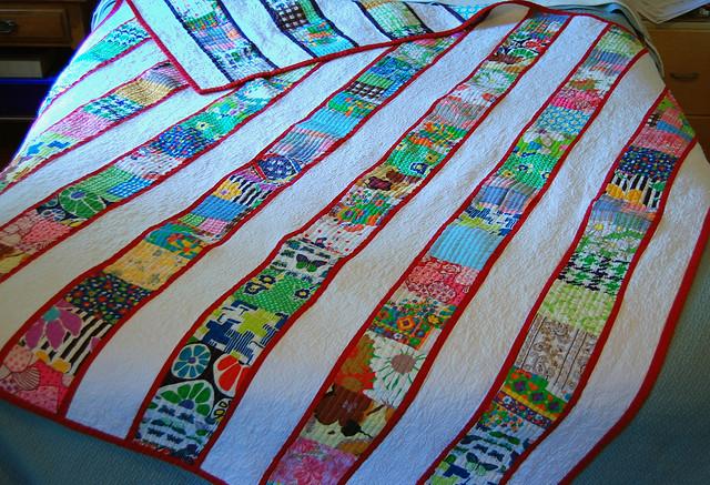 Vintage scrap quilt