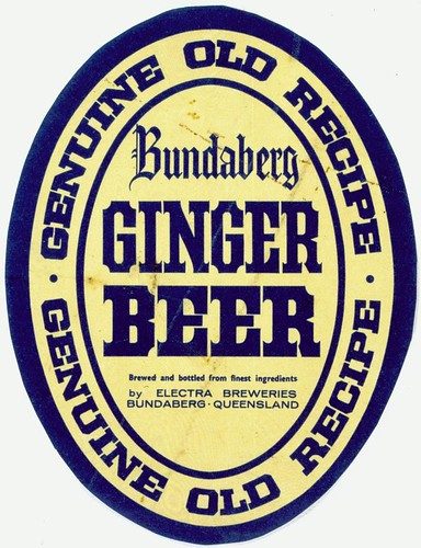 Bundaberg Ginger Beer label