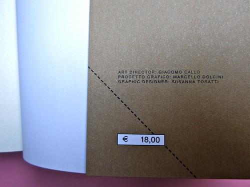 Jeannette Winterson, Perché essere felice quando puoi essere normale?, Modadori 2012. art director: Giacomo Callo, progetto grafico: Marcello Dolcini, graphic designer: Susanna Tosatti. Risvolto della quarta di copertina (part.), 2
