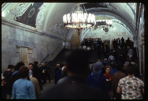 Metro Exit, Moscow 1969