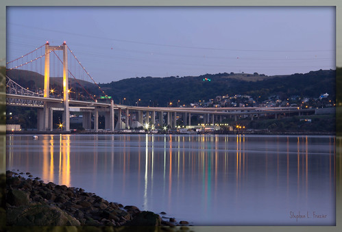 "california bridge usa reflection water beautiful northerncalifornia night canon dark landscape photography eos lights photo memorial photographer image picture surface photograph sanfranciscobayarea bayarea norcal vallejo solano strait crockett northbay twighlight carquinez zampa bridge"" ""united solanocounty ""canon states"" ""alfred 60d 60d"""