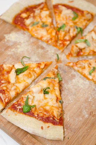 Parmesan Chicken Pizza 5