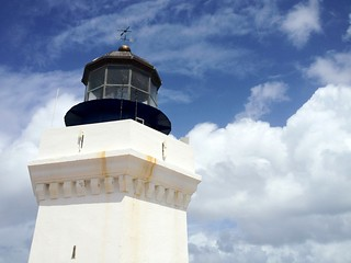Image of Arecibo Lighthouse near Arecibo. sky lighthouse clouds puertorico aricebo