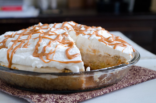 Roasted Banana Cream Pie