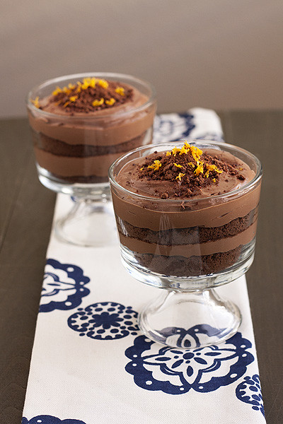 Chocolate-Orange Silk Mousse