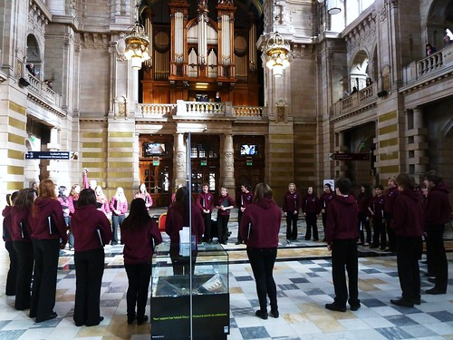 Carrickfergus Grammer School Choir, Kelvingrove