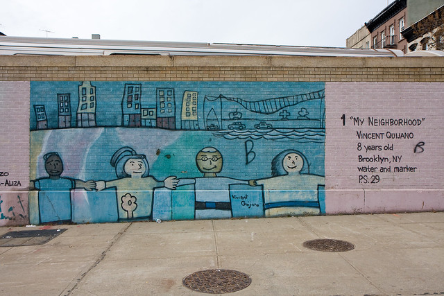 Children's murals, Smith Street