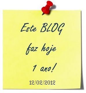 1 ano de blog