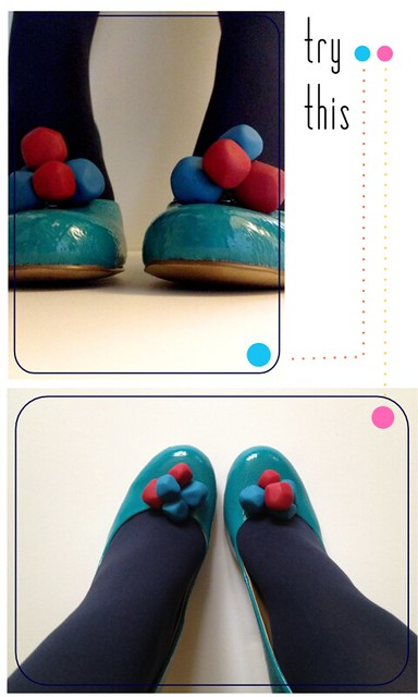 Faceted Bauble Shoe Clips