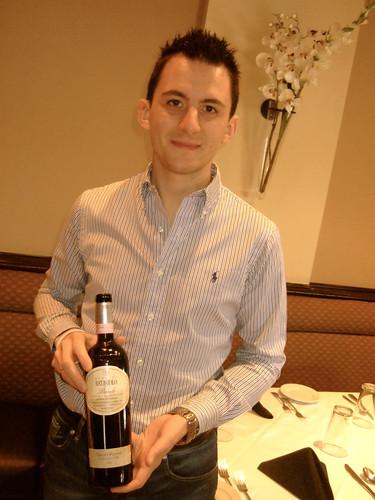 Matteo Tosso, Award-Winning 2012 Espresso Italian Sommelier