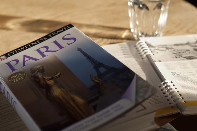 Paris on the horizon