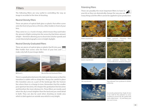 Creative Landscape Photography book sample page 2