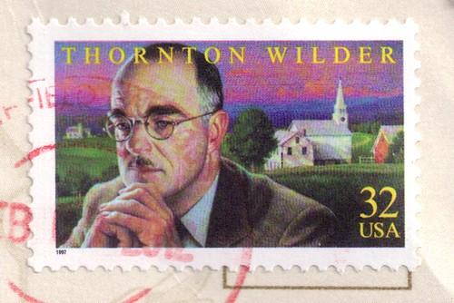 Thornton Wilder USA Stamp