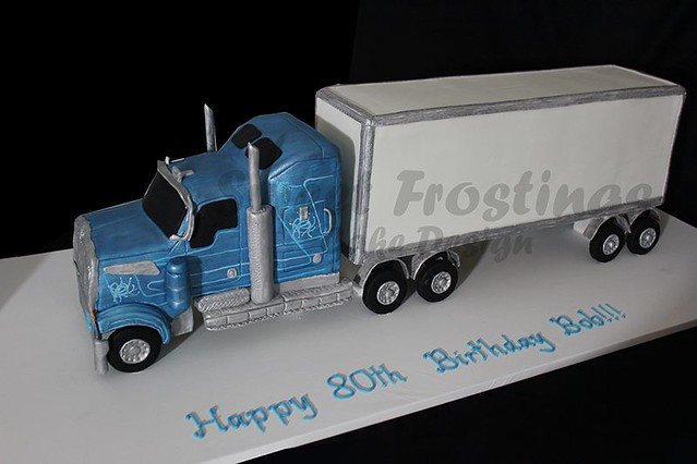 semi-trailer cake | Flickr - Photo Sharing!