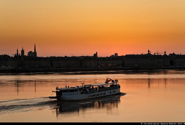 Bordeaux : Gironde : Sunset : Printemps / Spring : 2012 : Nikon D700 : Tokina atx287prosv