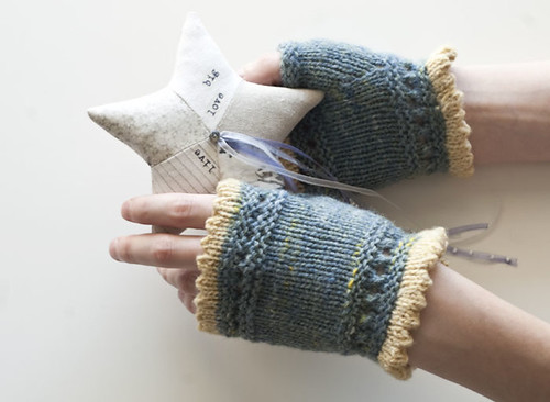 Mitts for friend on my hands