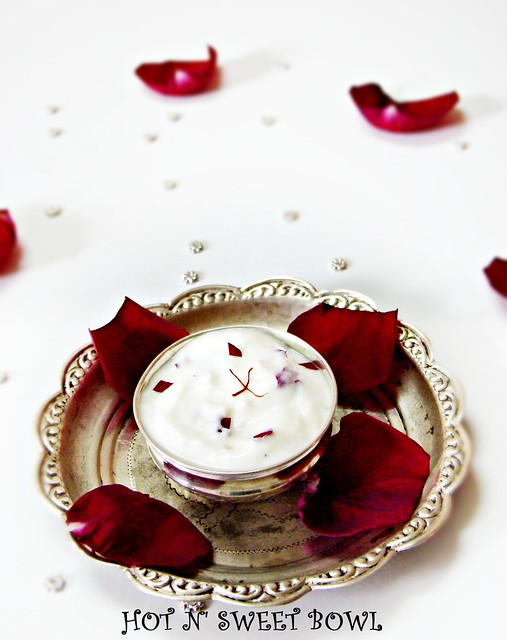 Rose Shrikhand